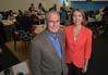 Beth Cabrera and Steve Gladis teach Positive Leadership. Photo by Evan Cantwell/Creative Services/George Mason University