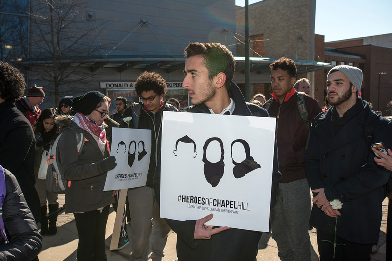 Vigil to honor victims of shooting at University of North Carolina at Chapel Hill