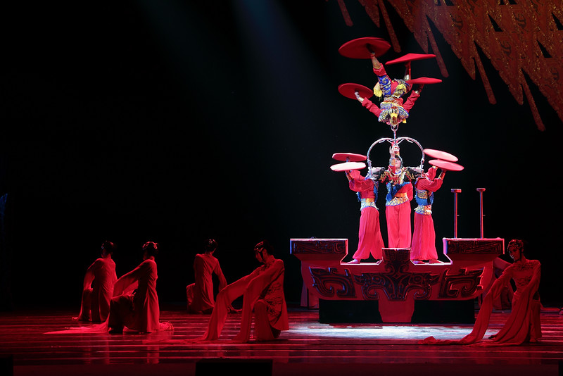 The National Circus and Acrobats of the People's Republic of China will perform during the 2015-2016 season of Hylton Performing Arts Center.  Courtesy of the Artists