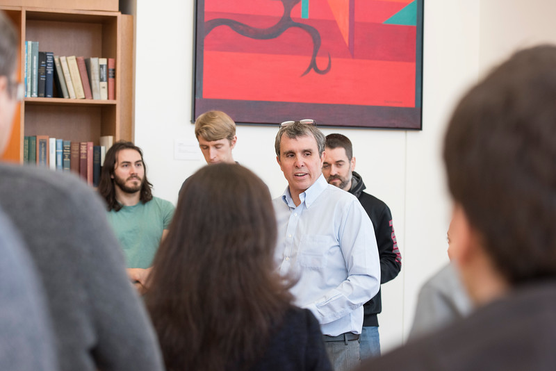 Nobel Prize awardee Eric Betzig at the Krasnow Institute for Advanced Study