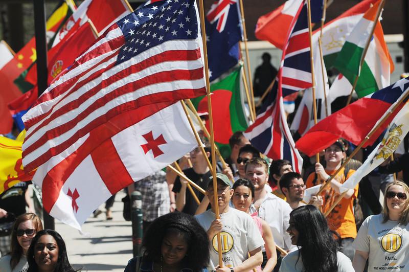 International Week Flag Parade 2012