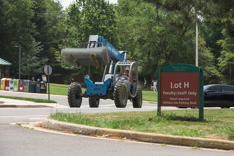 Construction begins on the Academic VII Building