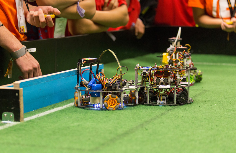RoboCup 2013 (which was held in Eindhoven, The Netherlands).  Provided by Robocup.