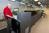 Mail services have a new state of the art mail sorter that can go through the entire day's mail in minutes. Students can now get their larger packages from new bluetooth mailboxes as well. (Bethany Camp/Creative Services/George Mason University)
