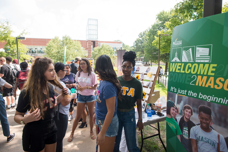 Welcome Week Get Connected Fair