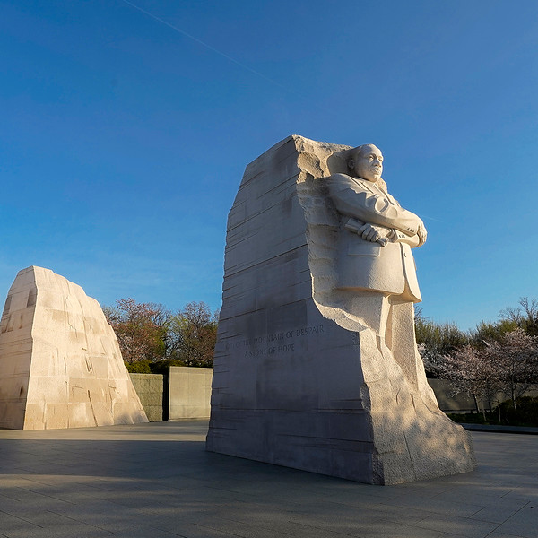 MLK Statue. Photo by Evan Cantwell/Creative Services