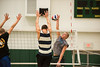 The Men's Volleyball team practices at the Recreation and Athletic Complex at Fairfax Campus. Photo by Alexis Glenn/Creative Services/George Mason University