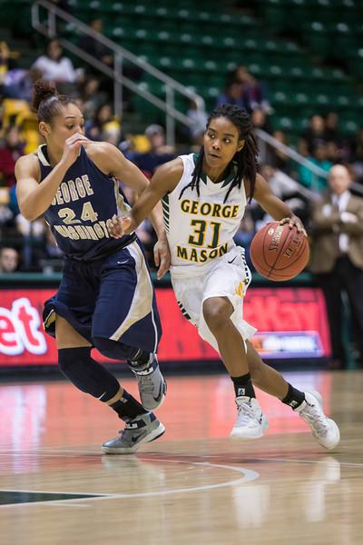 Geroge Mason vs George Washington Woman's Basketball