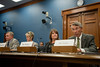 Stephen Fuller (R), University Professor and Director of Center for Regional Analysis in the School for Public Policy,  testifies at a House Committee on Small Business hearing on sequestration on Capitol Hill in Washington DC. Photo by Alexis Glenn/Creative Services/George Mason University