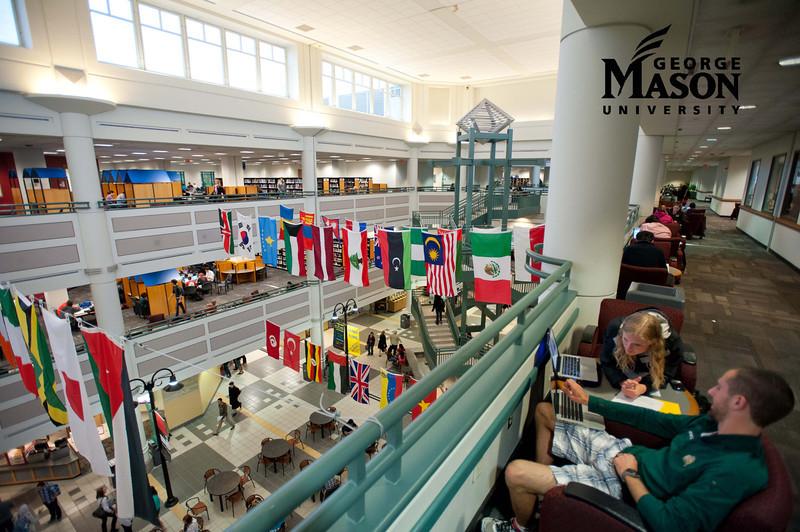 Johnson Center at Fairfax Campus. Photo by Alexis Glenn/Creative Services/George Mason University