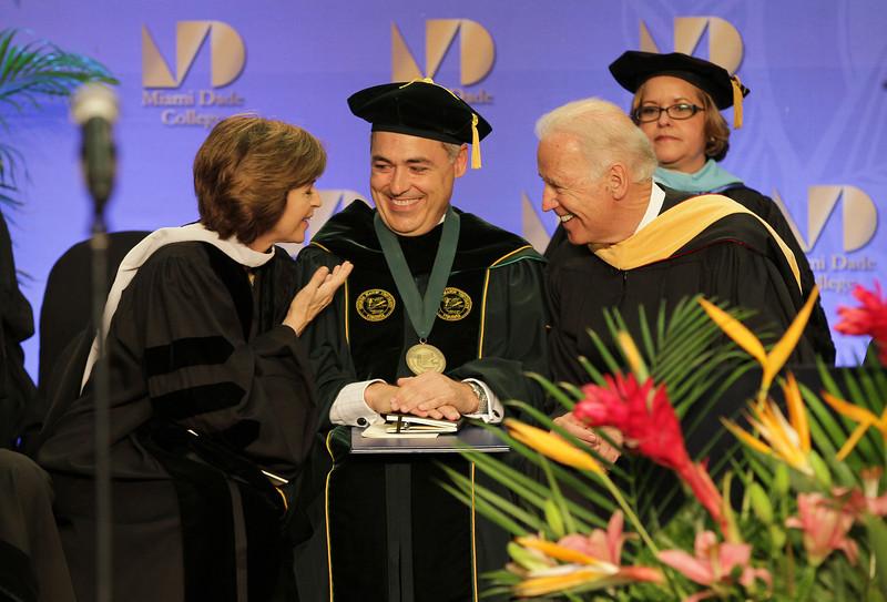 Dr. Cabrera at Miami Dade College