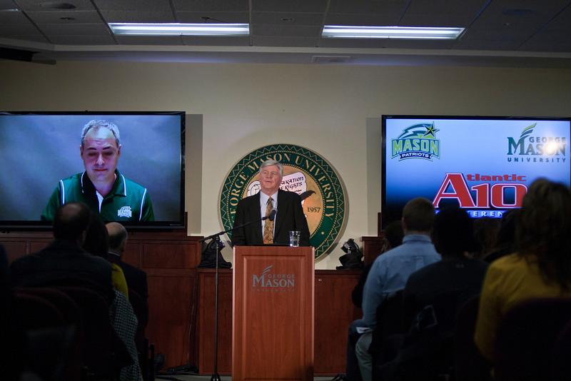 Mason Athletics joins the Atlantic 10 Conference