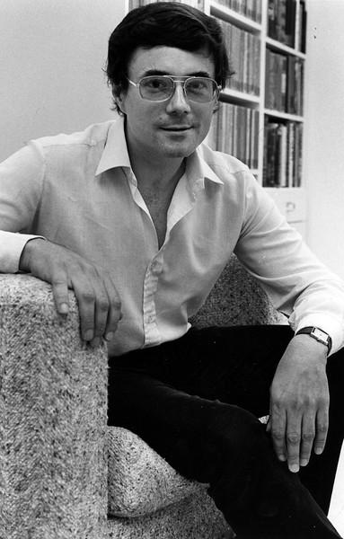 Roger Lathbury, English, 1984. Photo by Creative Services/George Mason University