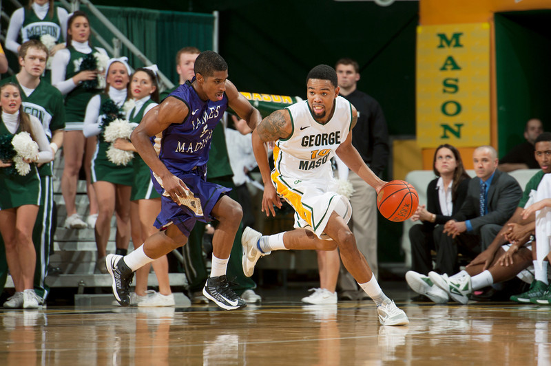 Men's basketball game against JMU