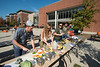 Students compete in a cook off with fresh produce sold from the Southside Farmers Market at Fairfax campus. Photo by Alexis Glenn/Creative Services/George Mason University