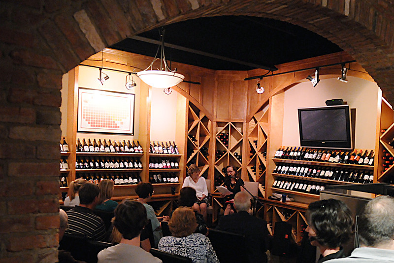 Megan Abbott and Ellen Crosby make a joint appearance to sample their works and chat about the art of crime fiction at Church Street Wine Cellars in Vienna, VA.