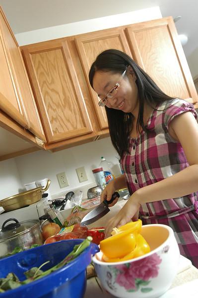 Danjing Shen, China 1+2+1 student