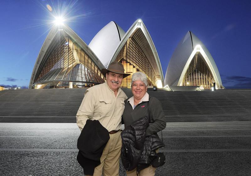 Richard & Mimi - Sydney Opera House