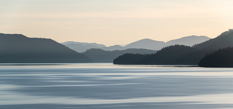 Alaska coastline from our Cruise ship balcony