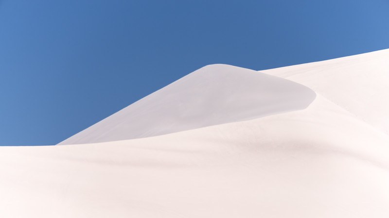 White Sands in Nevada desert