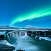 Northern Lights and Waterfalls - Iceland