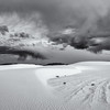 Stormy Clouds over White Sands