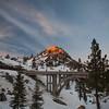 Golden Rays of Sunset  along Donner Ridge