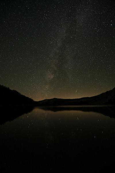 Milky Way over Tenaya Lake, Yosemite NP, CA, USA