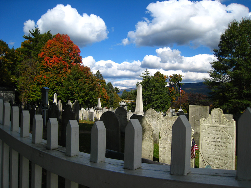 Old First Church Cemetery - Bennington, VT