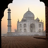 First Light at the Taj