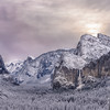 Wintry Dawn - Yosemite Valley