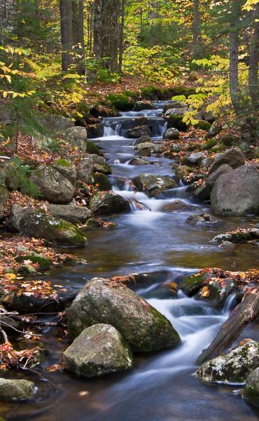 Water Cascades - Stratton Arlington Road - Green Mountain National Park, VT