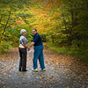 Mimi & Richard - Fall Leaves - White Mountain, NH