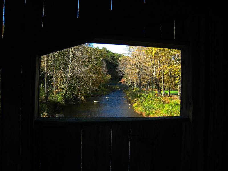 View from Covered Bridge - Grafton, VT