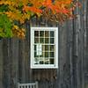 Fall Colors by Barn - Grafton, VT