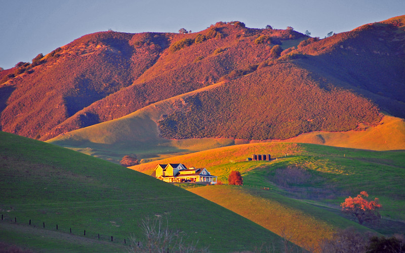 Evening Glow - Mt. Diablo, California