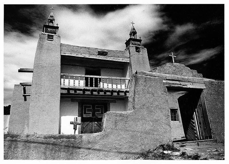 San Jose  de Gracia,  Las Trampas, New Mexico - 1975