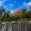Granite Cliffs along Kacamagus Hwy