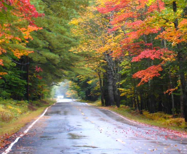 Back country road - Hwy 113 - Tamworth, NH