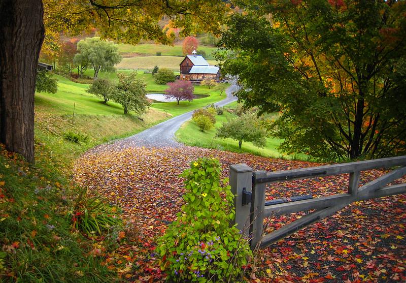 Farm House on Cloudland Road - Woodstock, VT
