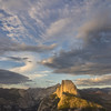 Half Dome from Glacier Point, late afternoon, Yosemite NP, CA, USA