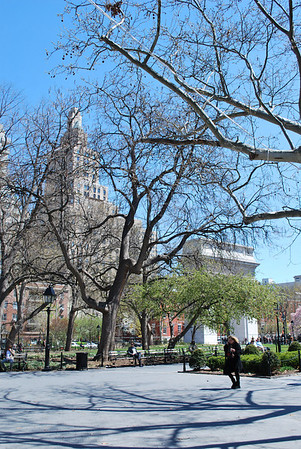 Washington Square Park - 2011-04-17