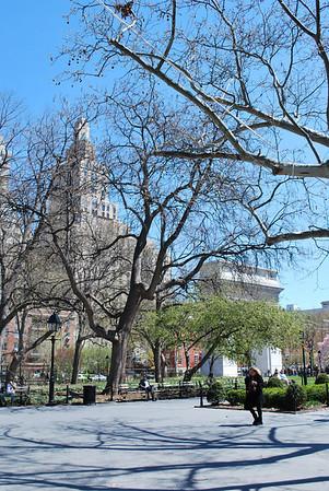 Washington Square Park - 2011-04-17