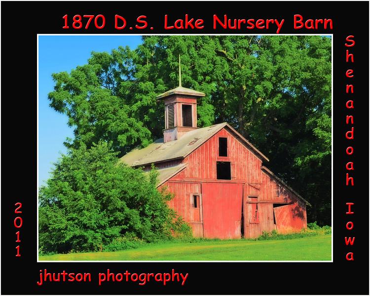 D.S. Lake Nursery Barn<br /> Shenandoah, Iowa
