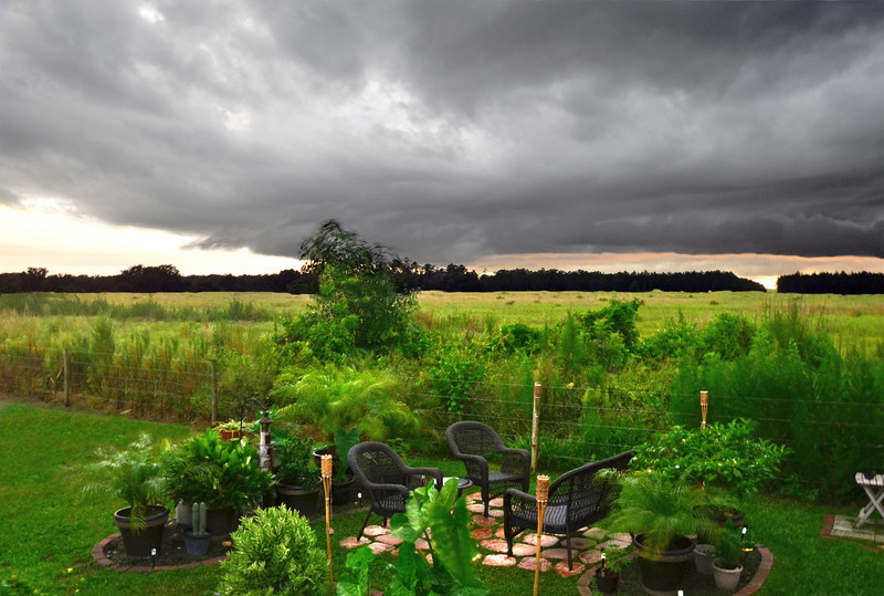 Backyard Thunderstorm
