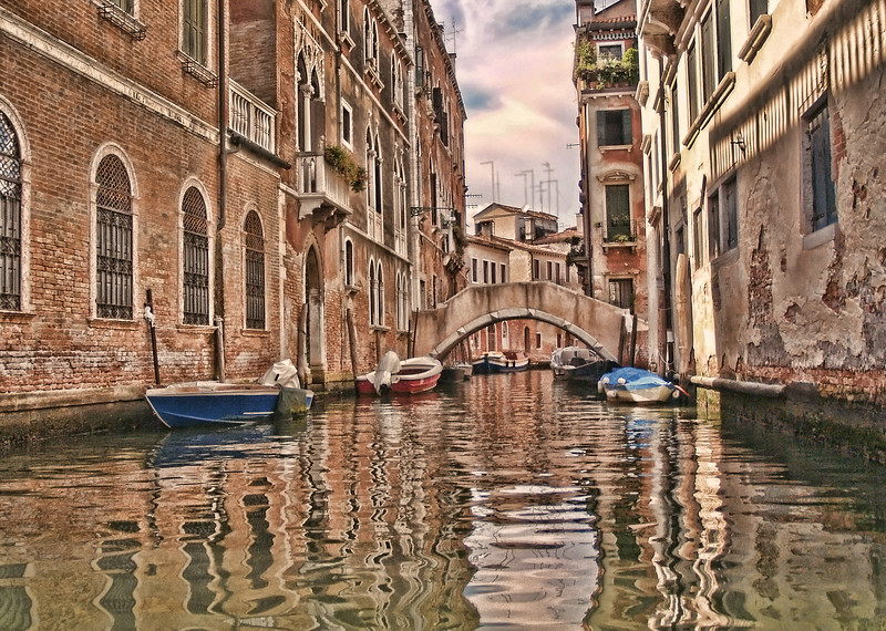 Canal of Venezia