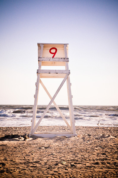 #9 Lifeguard Chair - Horseneck Beach Westport, MA