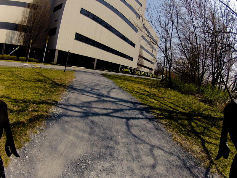 PennDOT HQ. End of trail.  Total loop is about 20 miles.