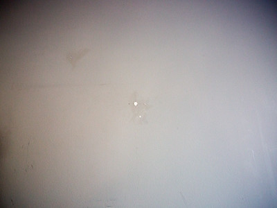 Playroom 01/01/2019 - molly anchor holes in wallPlayroom 01/01/2019 - molly anchor holes in wall - some filled some still in place