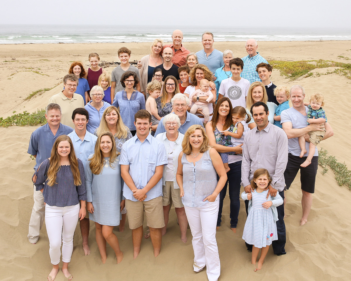 Family Reunion and 80th Birthday in Morro Bay
